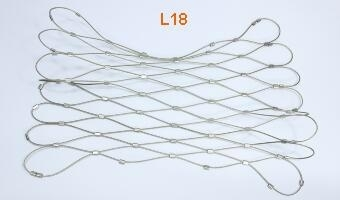L18 stainless steel cable mesh