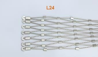 L24 Pattern rope zoo mesh